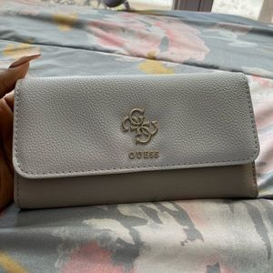 Guess Trifold Clutch Wallet